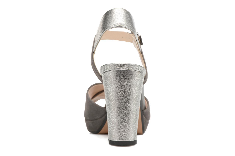 Sandales et nu-pieds Clarks Kendra Petal Gris vue droite