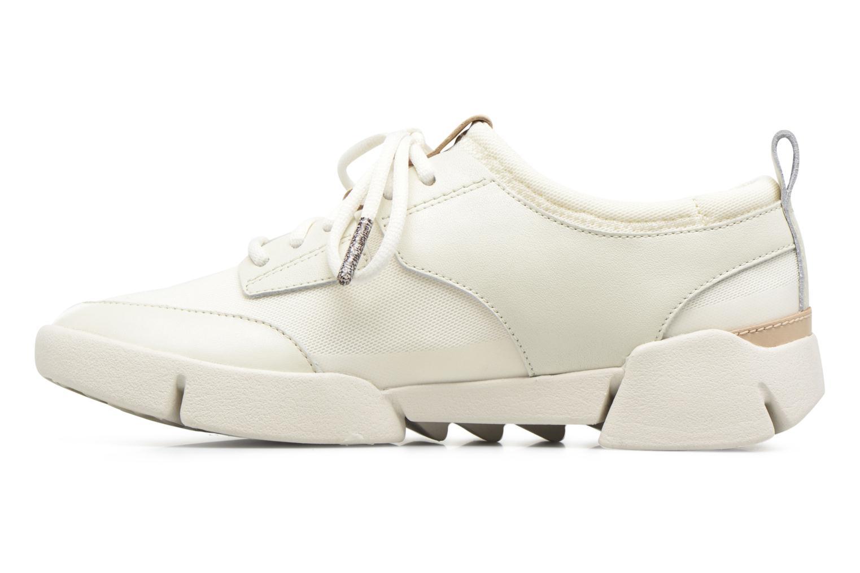 Sneaker Clarks Tri Soul weiß ansicht von vorne