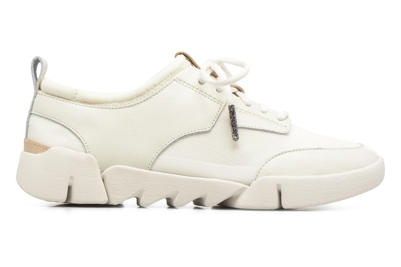 Sneaker Clarks Tri Soul weiß ansicht von hinten