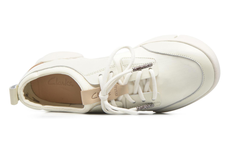 Sneaker Clarks Tri Soul weiß ansicht von links