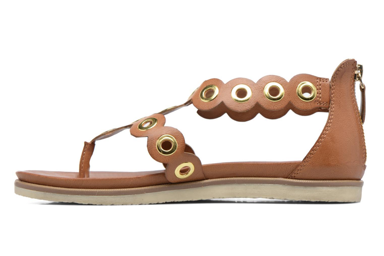 Sandales et nu-pieds Bugatti Jodie V6582-6N Marron vue face