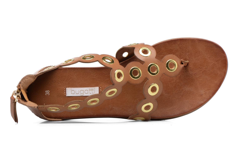 Sandales et nu-pieds Bugatti Jodie V6582-6N Marron vue gauche