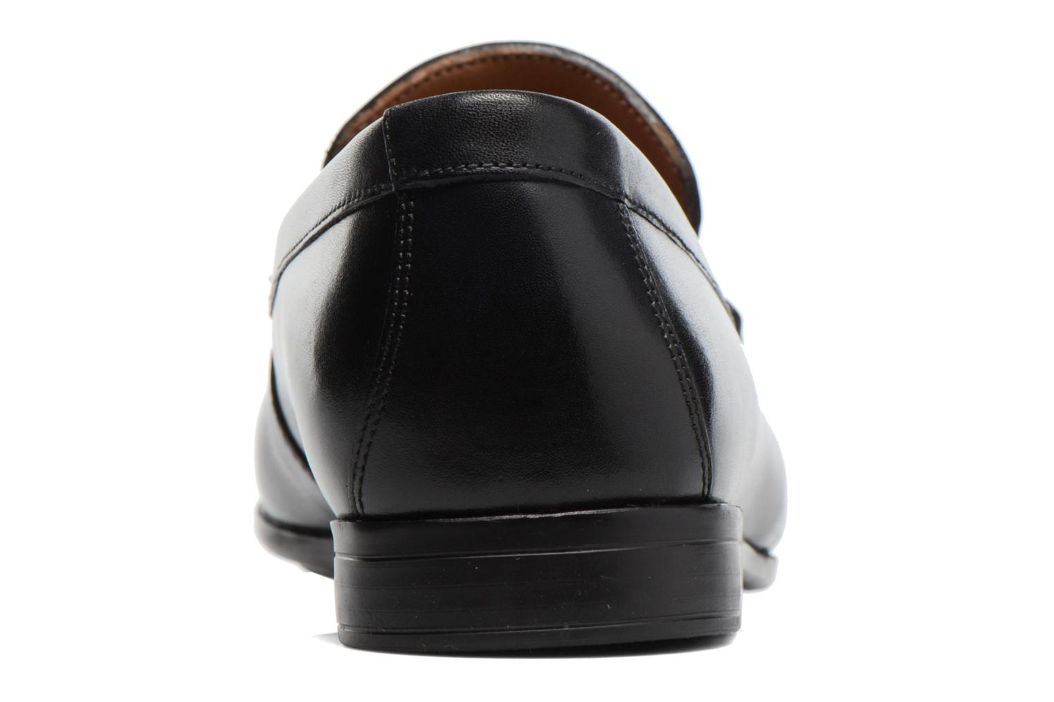 Claude Lane Black leather