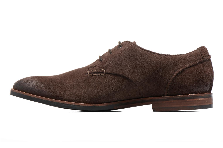 Chaussures à lacets Clarks Broyd Walk Marron vue face
