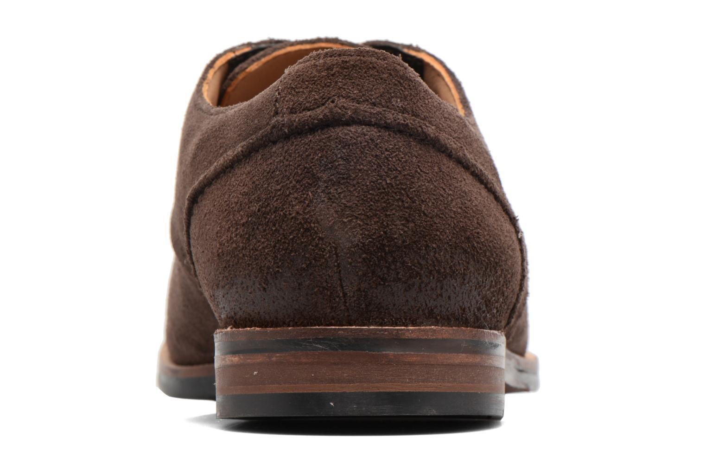 Chaussures à lacets Clarks Broyd Walk Marron vue droite