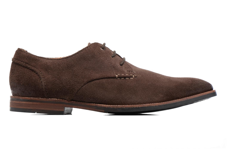 Chaussures à lacets Clarks Broyd Walk Marron vue derrière