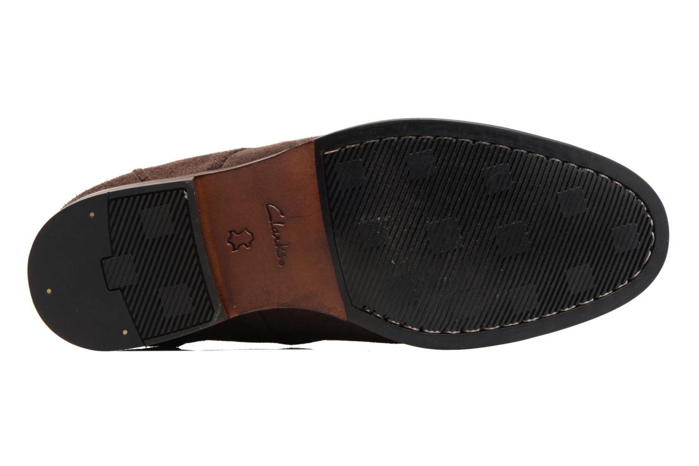 Chaussures à lacets Clarks Broyd Walk Marron vue haut