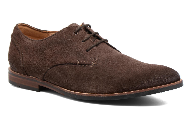 Chaussures à lacets Clarks Broyd Walk Marron vue détail/paire