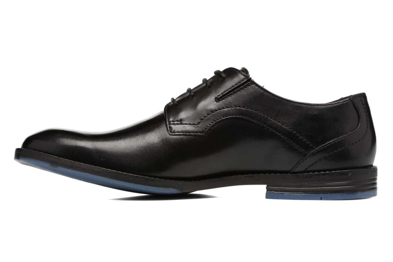 Chaussures à lacets Clarks Prangley Walk Noir vue face