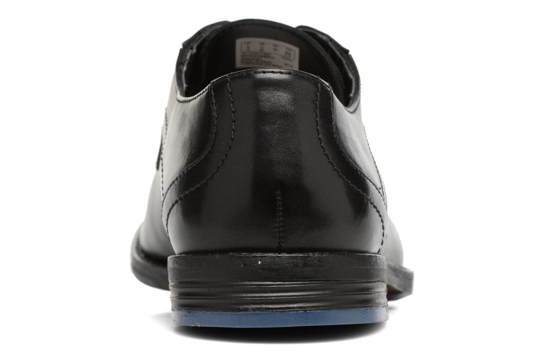 Chaussures à lacets Clarks Prangley Walk Noir vue droite