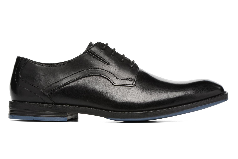 Chaussures à lacets Clarks Prangley Walk Noir vue derrière