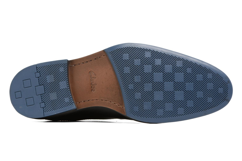 Chaussures à lacets Clarks Prangley Walk Noir vue haut