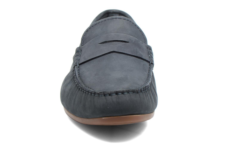 Loafers Clarks Reazor Drive Blå bild av skorna på