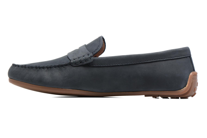 Loafers Clarks Reazor Drive Blå bild från framsidan