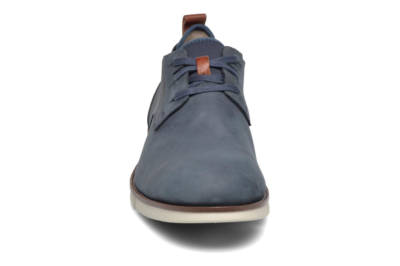 Chaussures à lacets Clarks Trigen Lace Bleu vue portées chaussures
