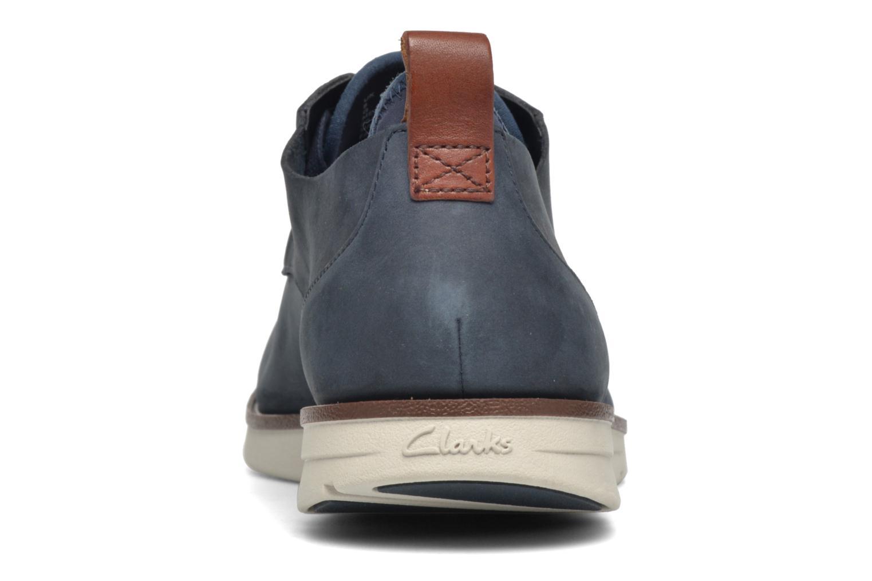 Chaussures à lacets Clarks Trigen Lace Bleu vue droite