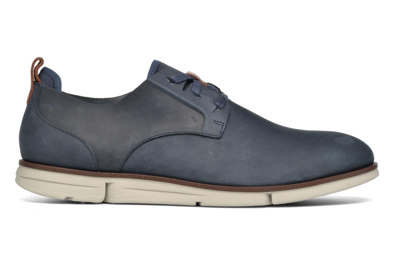 Chaussures à lacets Clarks Trigen Lace Bleu vue derrière