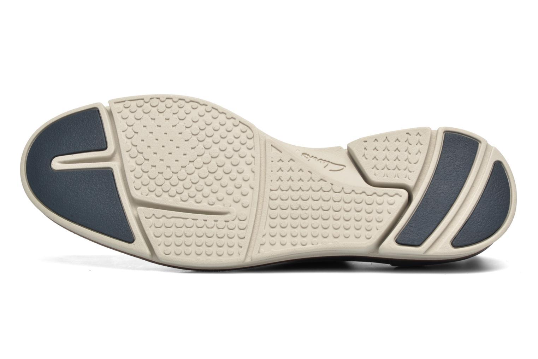 Chaussures à lacets Clarks Trigen Lace Bleu vue haut