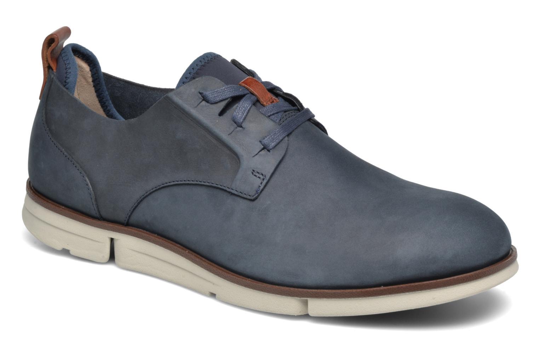 Chaussures à lacets Clarks Trigen Lace Bleu vue détail/paire