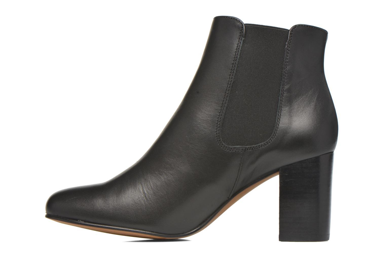 Bottines et boots Anaki Angèle Noir vue face