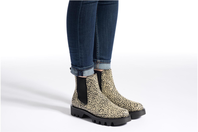 Bottines et boots Anaki Roger Noir vue bas / vue portée sac