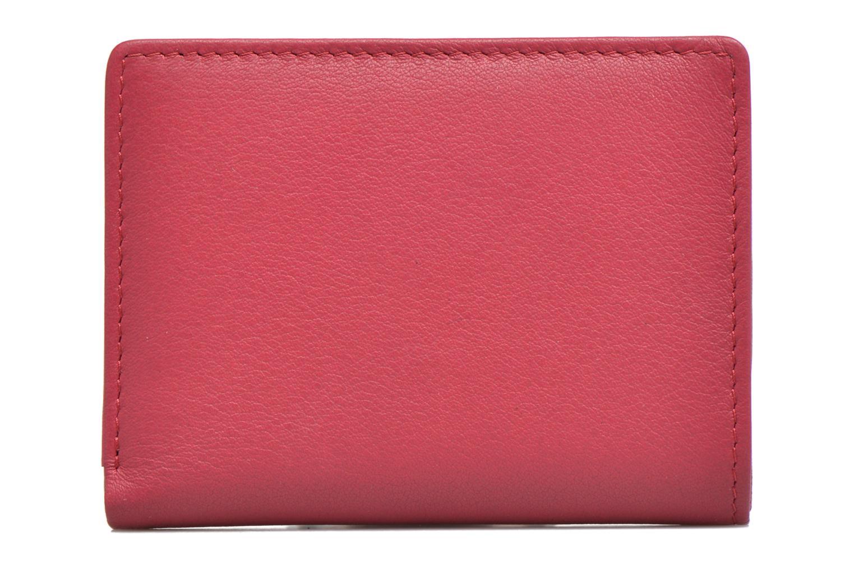 Portemonnaies & Clutches Le Tanneur VALENTINE Porte-cartes anti-RFID rosa ansicht von vorne
