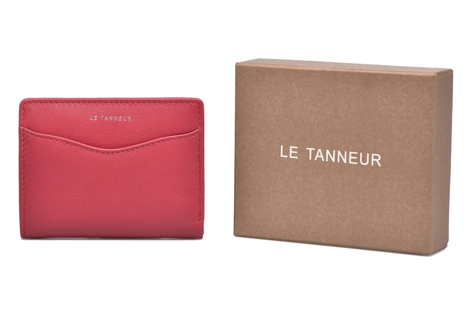 Wallets & cases Le Tanneur VALENTINE Porte-cartes anti-RFID Pink detailed view/ Pair view
