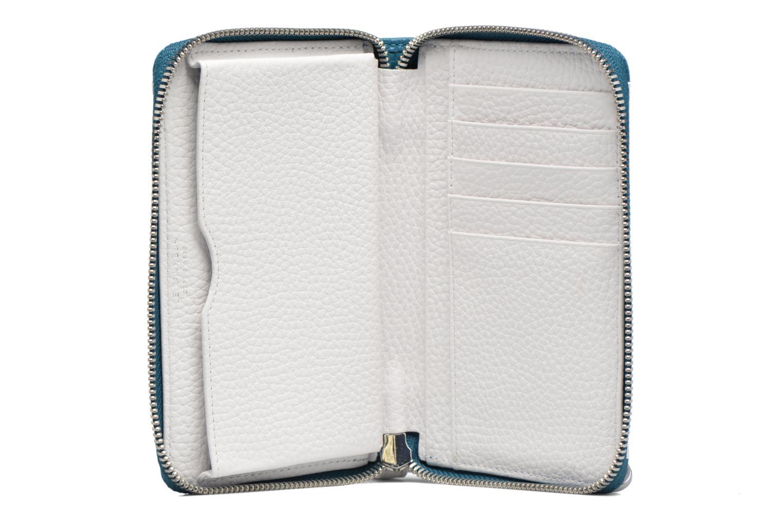 AGATHE Porte-monnaie zippé téléphone Blanc/Tourmaline