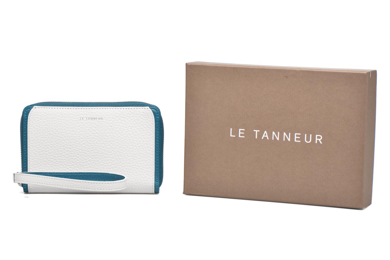 Punge og etuier Le Tanneur AGATHE Porte-monnaie zippé téléphone Hvid detaljeret billede af skoene