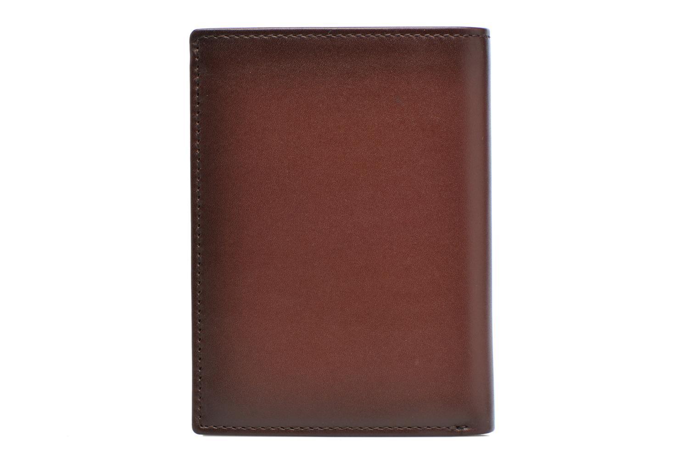 CORENTIN Portefeuille zippée anti-RFID marron