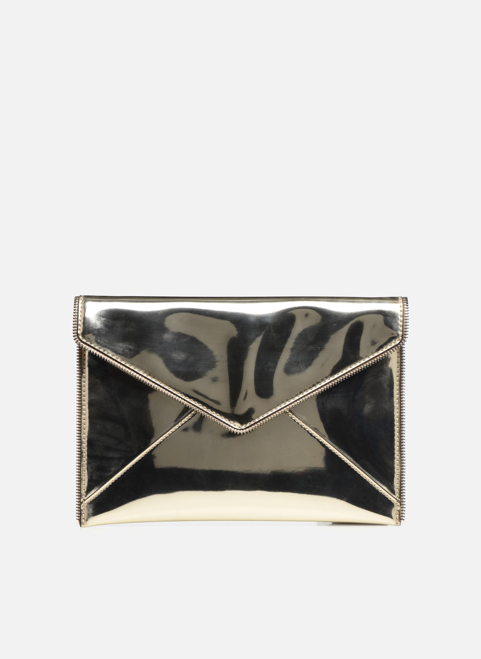 Mini Bags Taschen MIRRORED METALLIC LEO CLUTCH