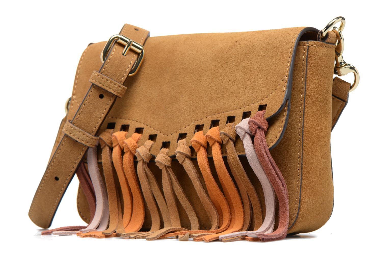 Sacs à main Rebecca Minkoff RAPTURE SMALL SHOULDER BAG Beige vue portées chaussures