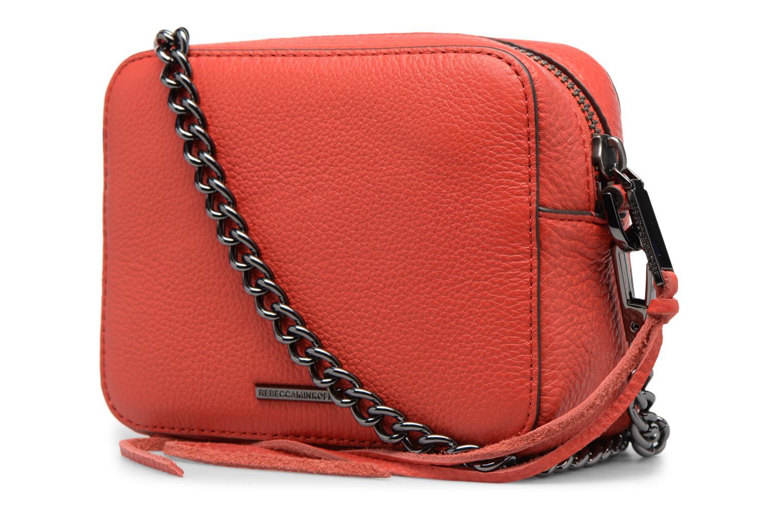 Bolsos de mano Rebecca Minkoff 4 ZIP MOTO CAMERA BAG Rojo vista lateral derecha