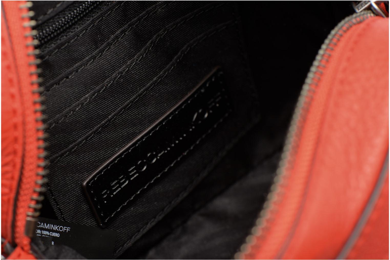 Handbags Rebecca Minkoff 4 ZIP MOTO CAMERA BAG Red back view