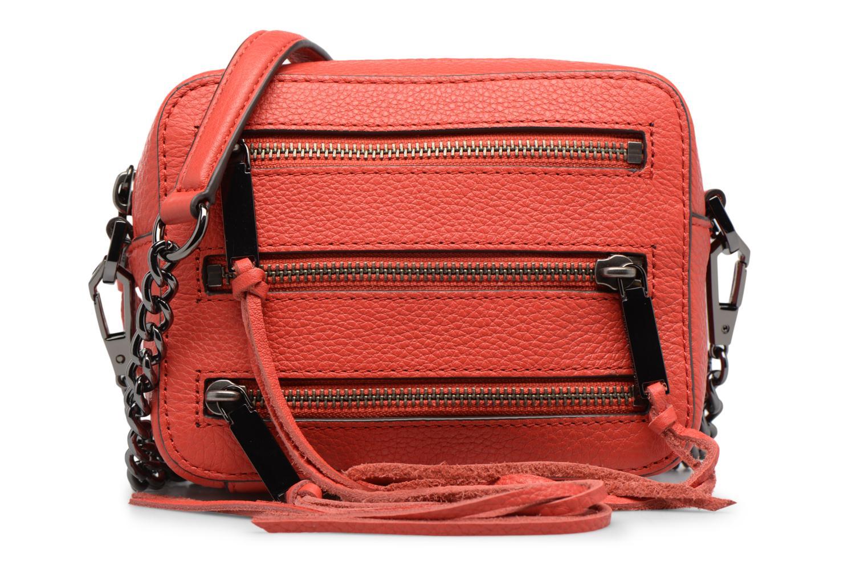 Handbags Rebecca Minkoff 4 ZIP MOTO CAMERA BAG Red detailed view/ Pair view