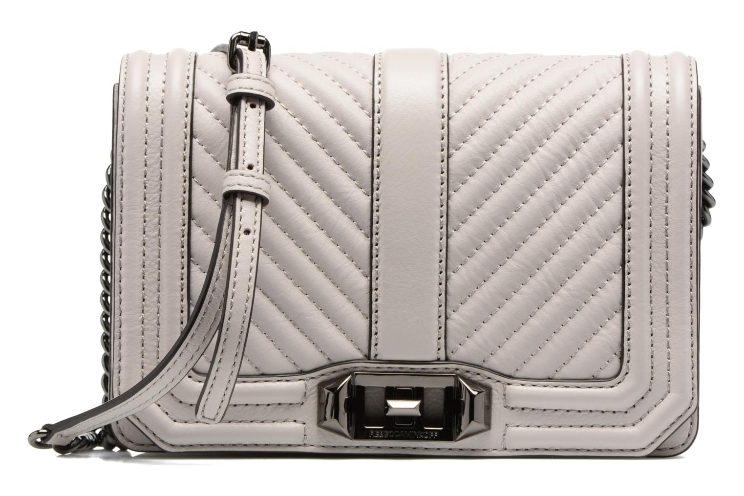 CHEVRON QUILTED SMALL LOVE CRO 269 PUTTY
