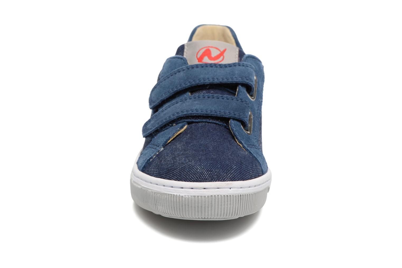 Baskets Naturino Caleb VL Bleu vue portées chaussures