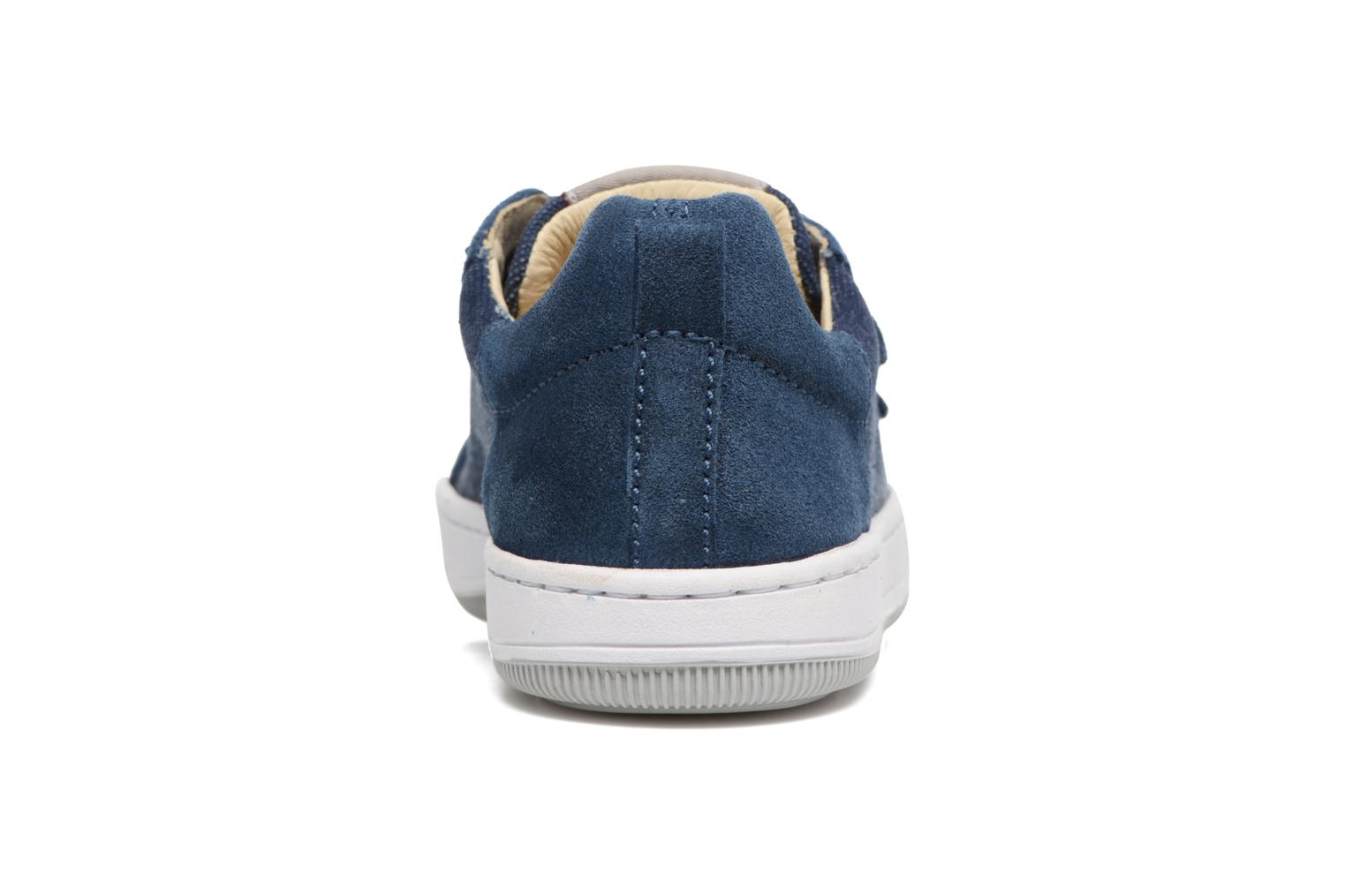 Trainers Naturino Caleb VL Blue view from the right