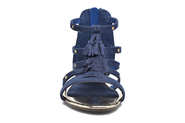 Sandales et nu-pieds Xti Hanna Bleu vue portées chaussures