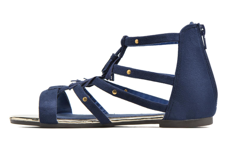Sandales et nu-pieds Xti Hanna Bleu vue face