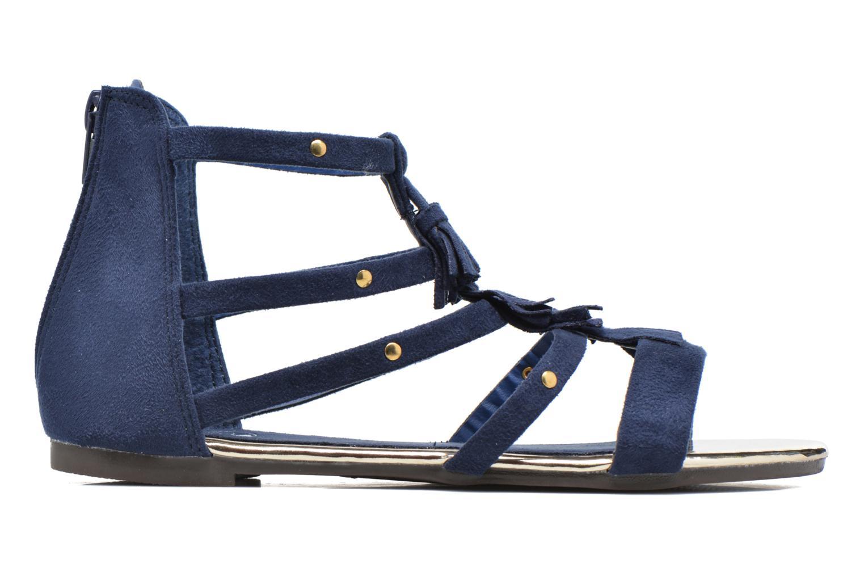 Sandales et nu-pieds Xti Hanna Bleu vue derrière