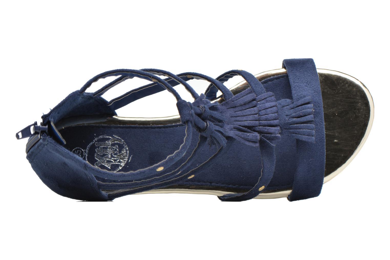 Sandales et nu-pieds Xti Hanna Bleu vue gauche