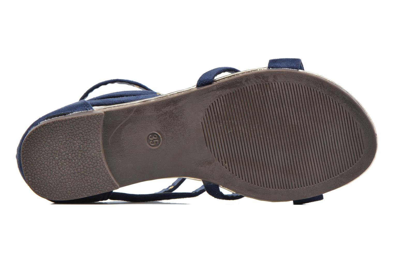 Sandales et nu-pieds Xti Hanna Bleu vue haut
