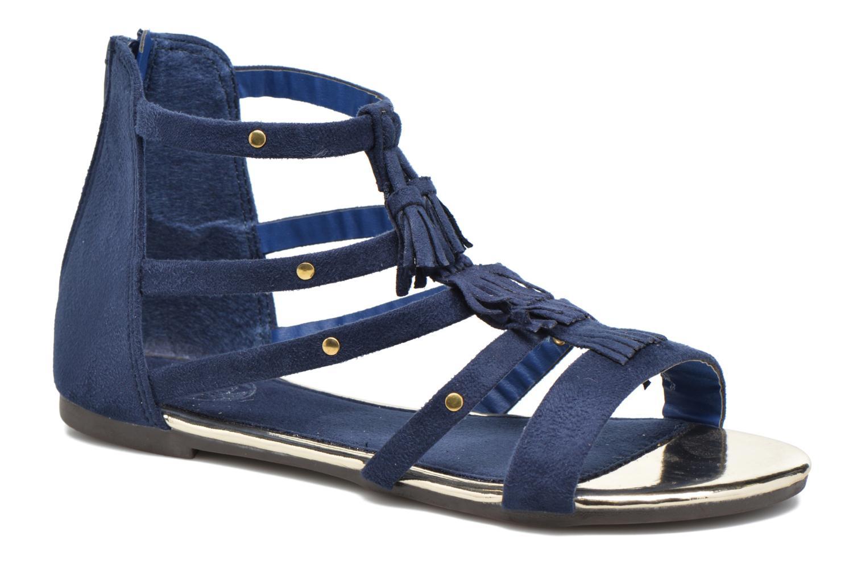 Sandales et nu-pieds Xti Hanna Bleu vue détail/paire