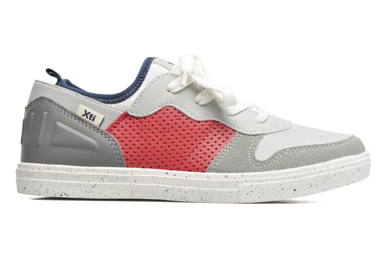 Sneakers Xti Axel Grijs achterkant