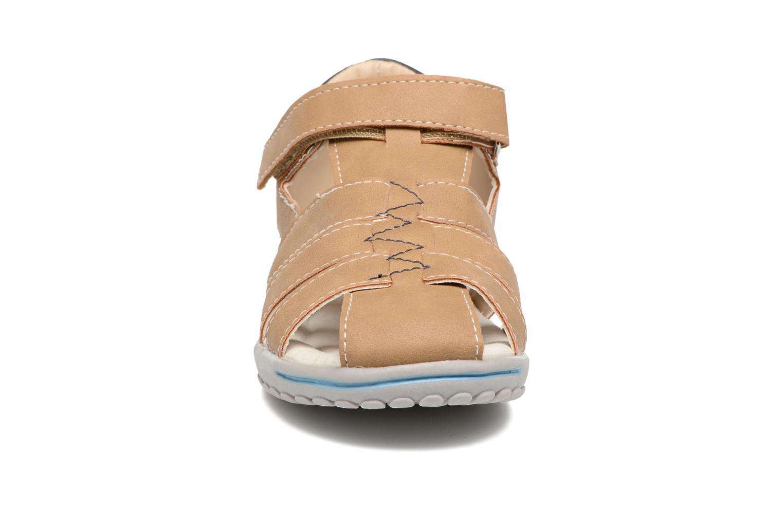 Sandales et nu-pieds Xti Cirilo Marron vue portées chaussures