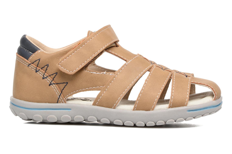 Sandales et nu-pieds Xti Cirilo Marron vue derrière