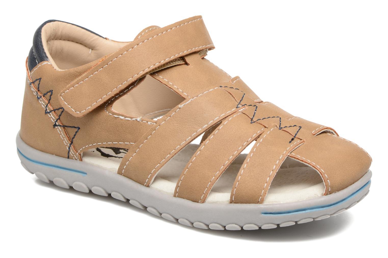 Sandales et nu-pieds Xti Cirilo Marron vue détail/paire