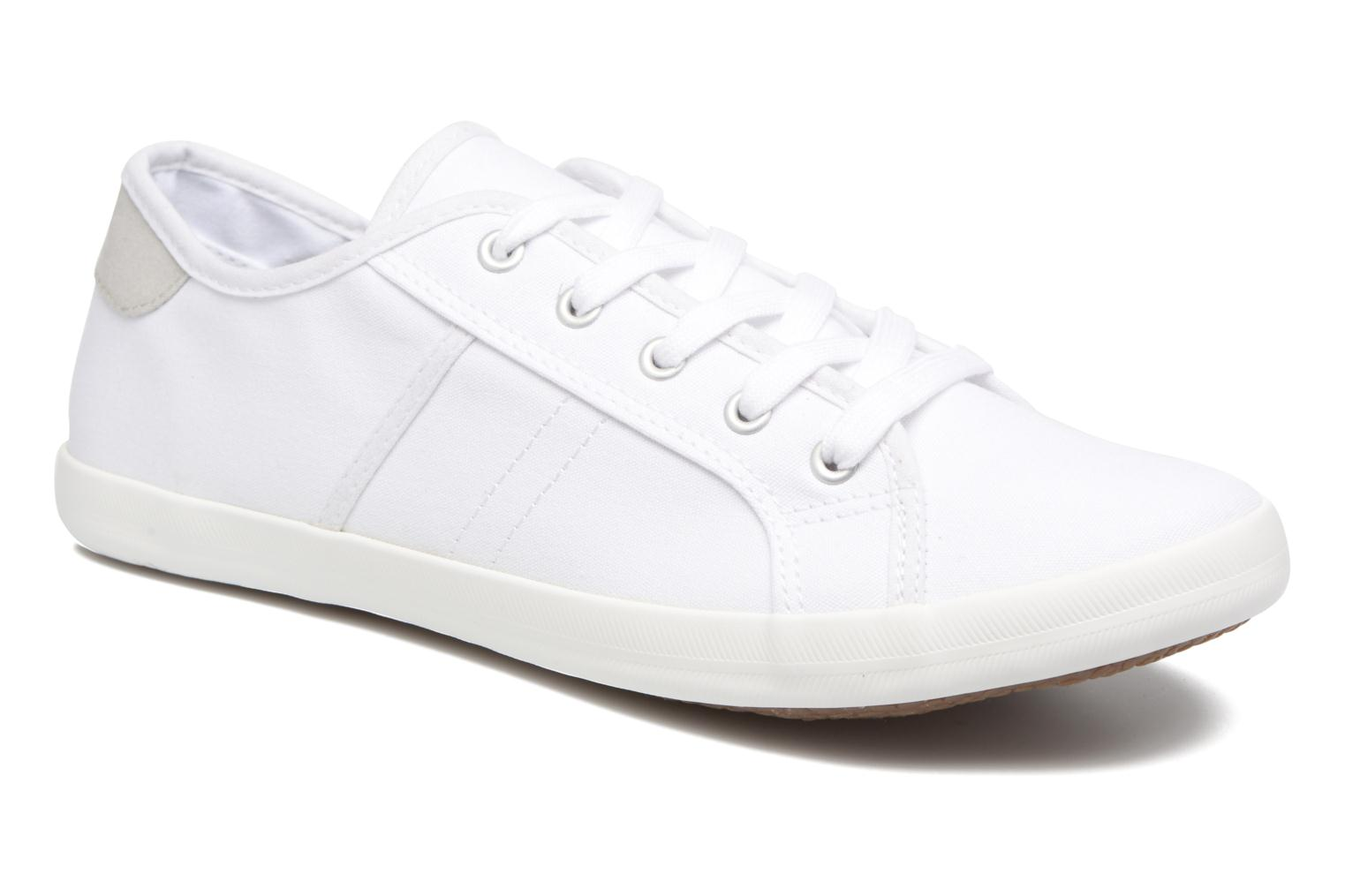 Trainers I Love Shoes GOLCIN White detailed view/ Pair view