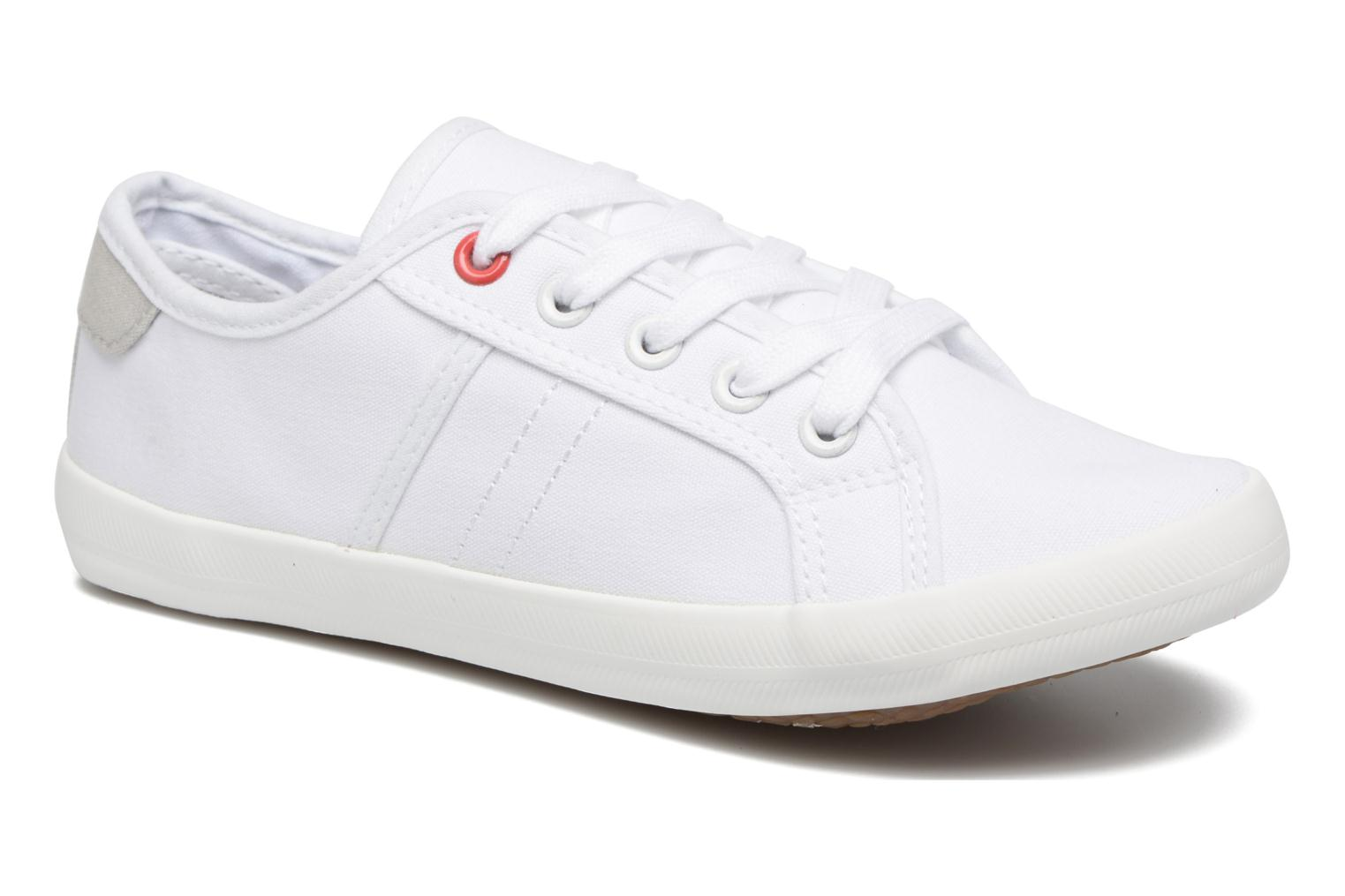 Baskets I Love Shoes GOLCEN Blanc vue détail/paire